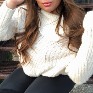COMFY Oversized sweater/sweater dress